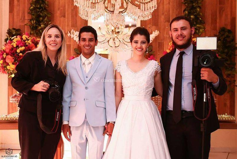 Noivos Talita & Fabio