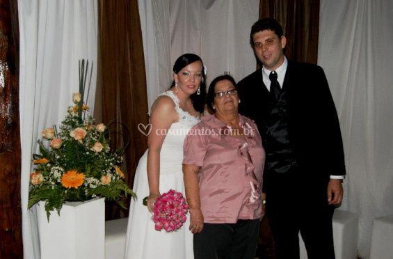 Noiva e convidados