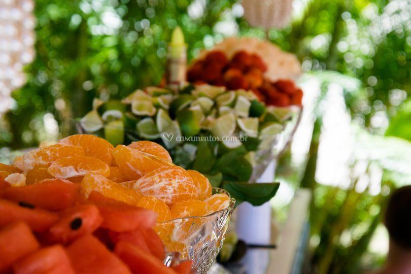 Frutas sempre frescas