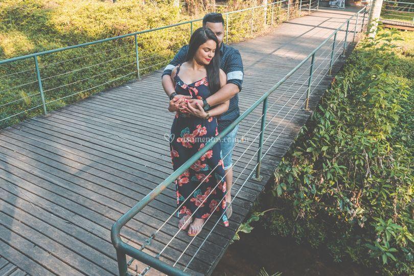Ensaio casal Jardim Botânico