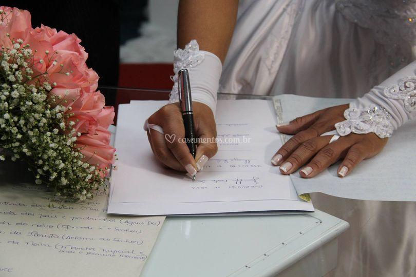 Detalhes de casamentos