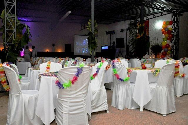Salão de  Festa a noite