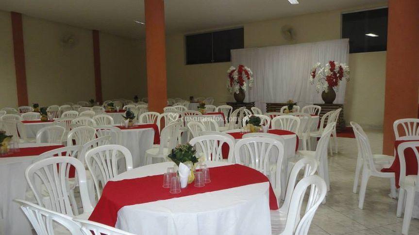 Salão para casamento