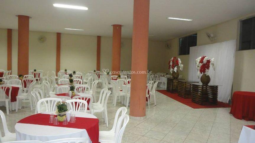 Salão para festa
