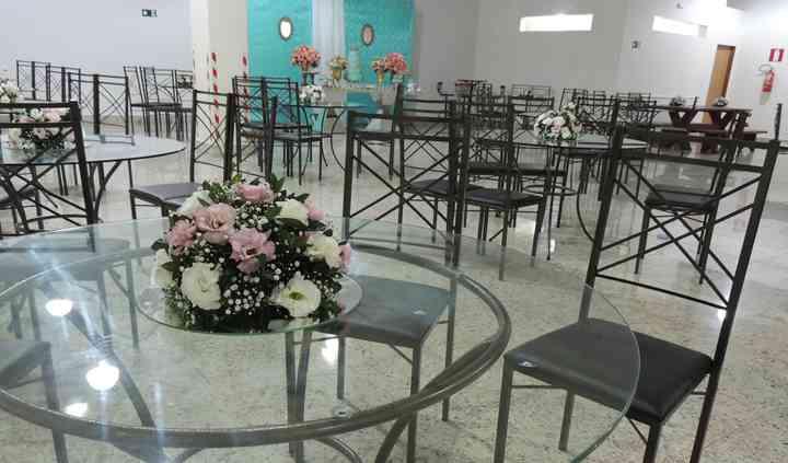 Mobiliário do Salão