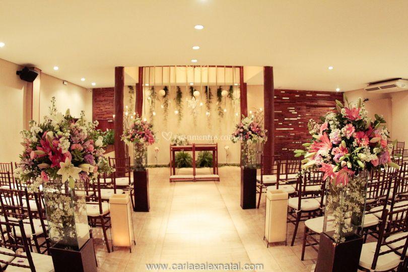 Cerimônia - salão