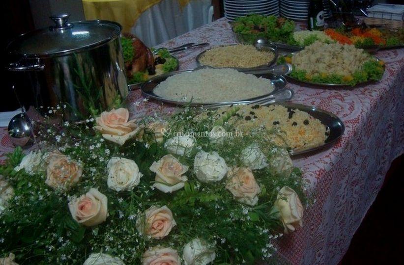 Pratos quentes para casamento