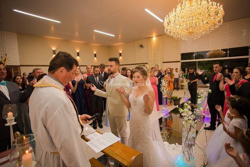 Cerimônia salão interno