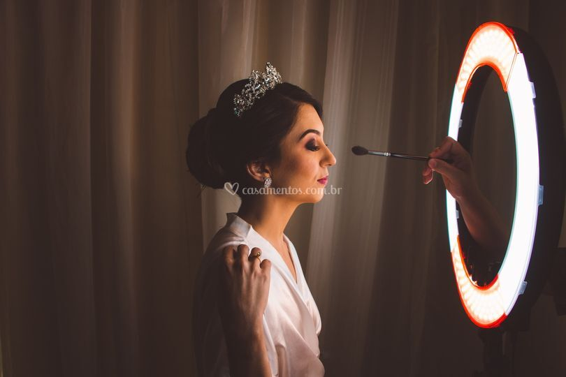 Making Of da noiva Thamires