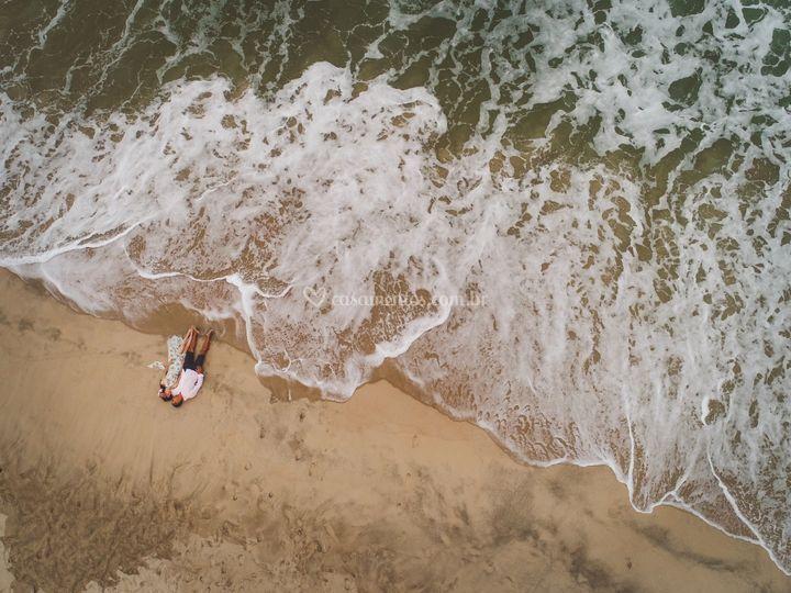Ensaio Pre Wedding na Praia