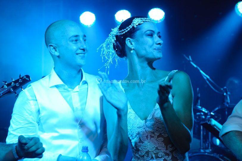 Gabriela Rhein e Rodrigo