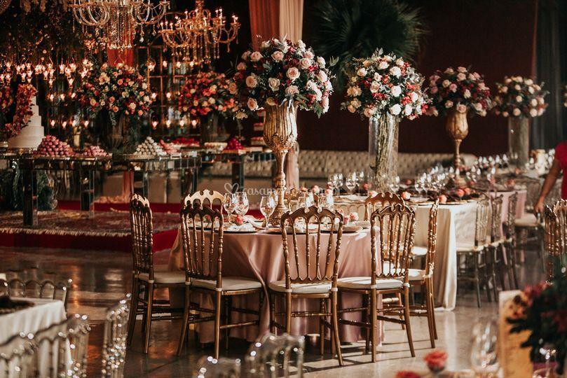 Decoração casamento flores arr