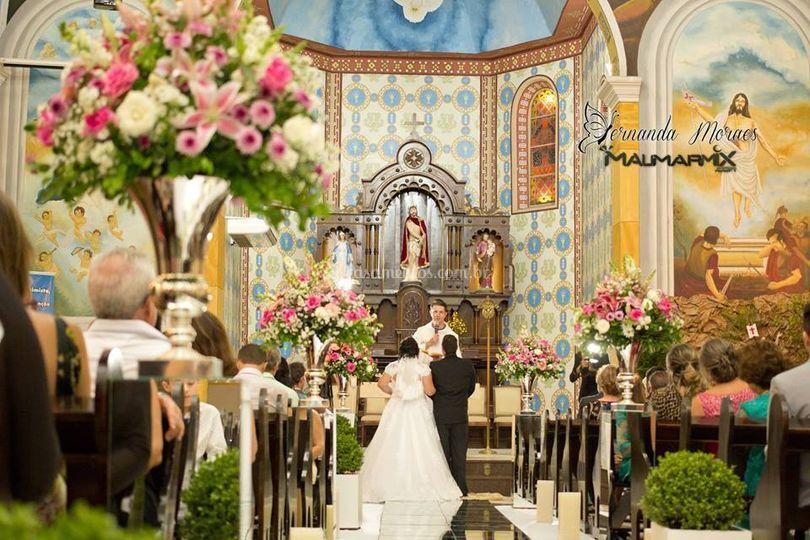 Cerimônia e decoração