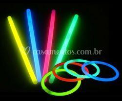 Pulseiras de neon