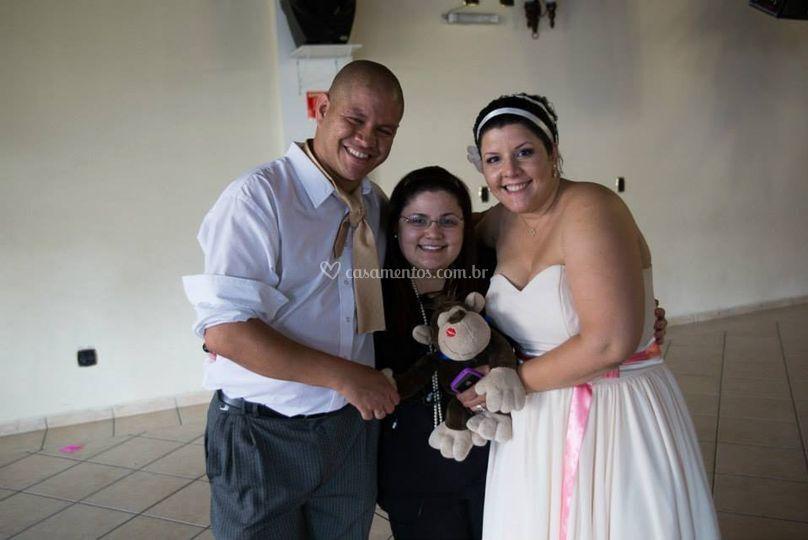 Casamento Kelly e Enéias