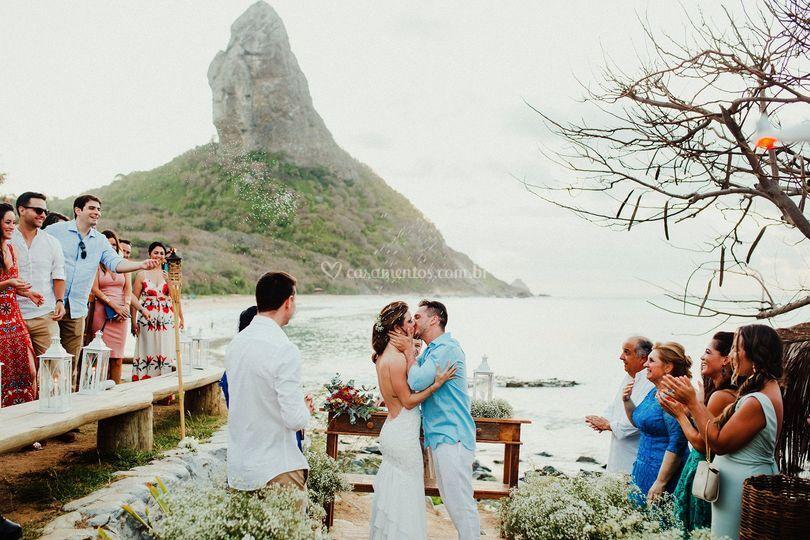 Casamento em Noronha