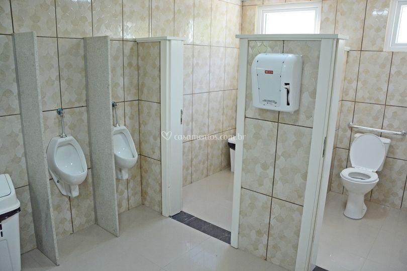 2 banheiros, com acesso para c