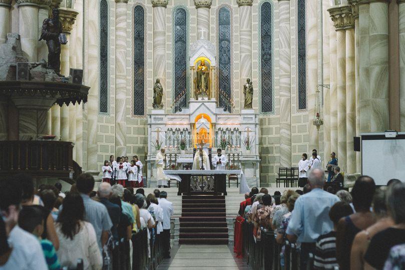 Cerimonia na Igreja Matriz