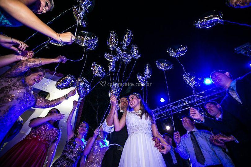 Hora da Valsa dos noivos