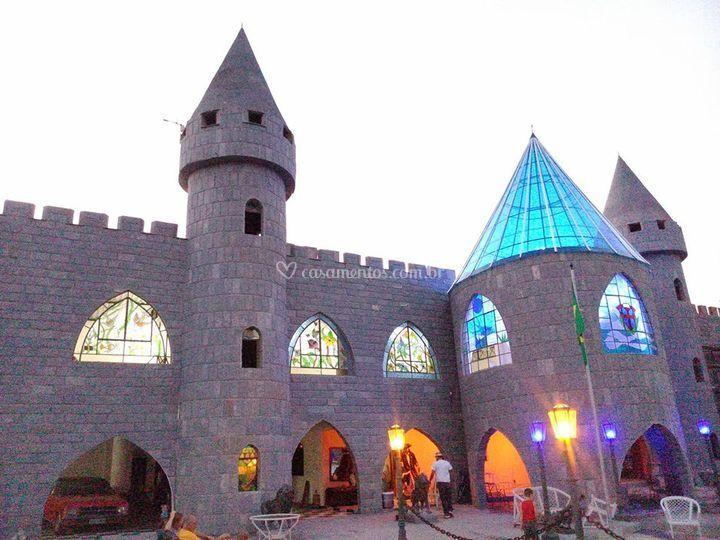 Castelo á noite
