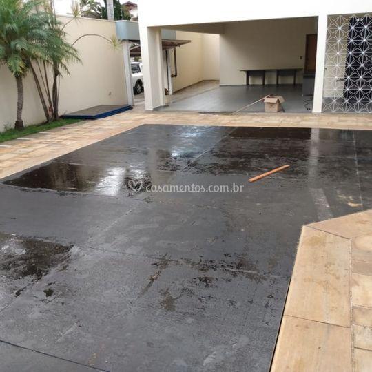 Cobertura para piscinas .