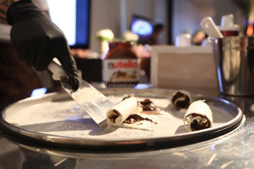 Ninho c Nutella, nossos rolls