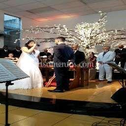Noiva cantando para o noivo...