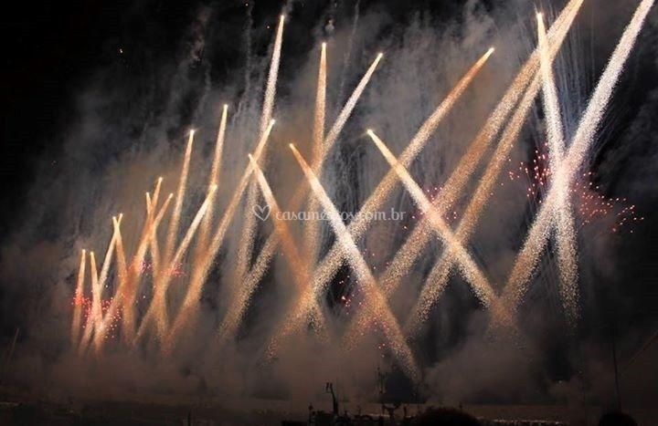 Trassantes - fogos artifício