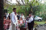 A alegria na cerimonia