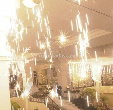 Fogos de artifício indoor