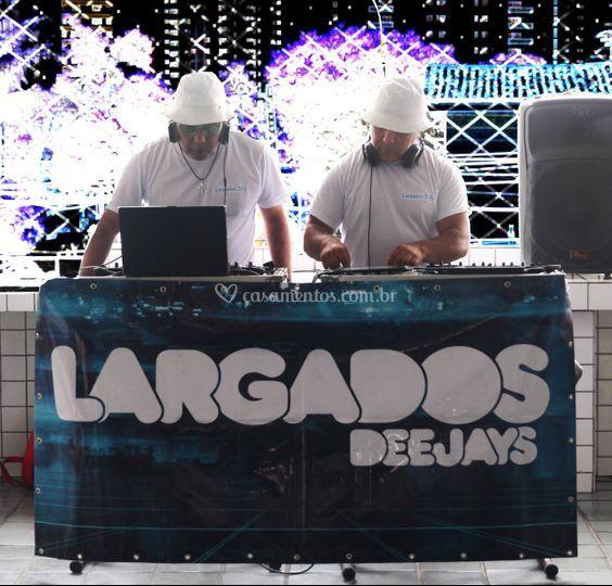LARGADOS DJs