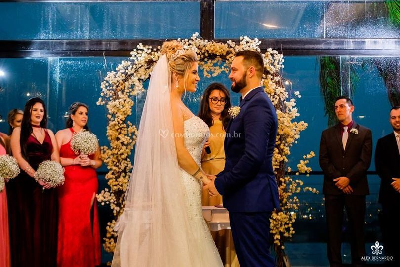 Cerimônia romântica