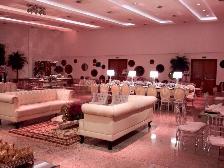 Lounge rústico