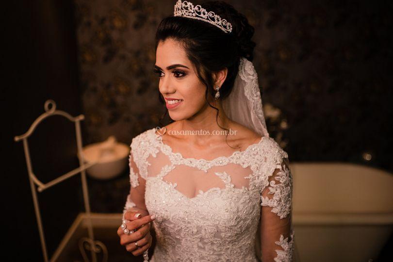 Maquiadora Yasmin Gama