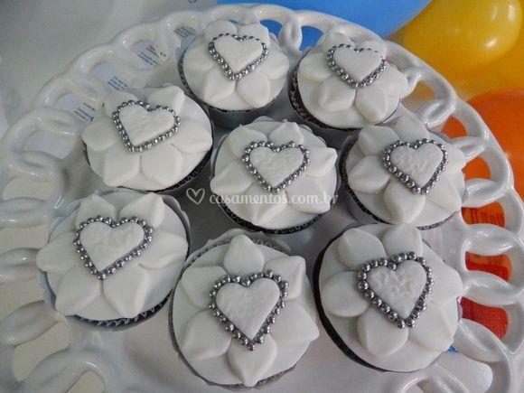 Cupcakes Bodas De Prata De Mil Lembranças Foto 7