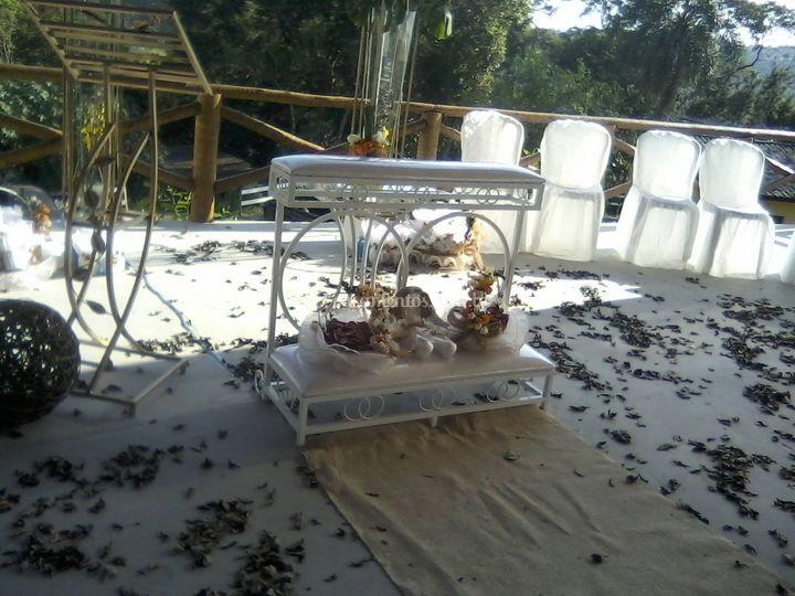Altar da cerimonia