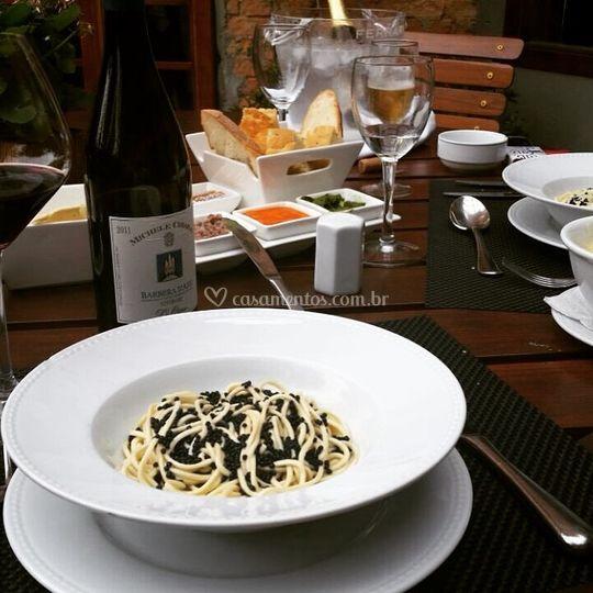 Spaghetti Caviale
