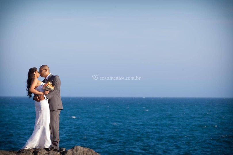 Casal apaixonado em Cabo frio
