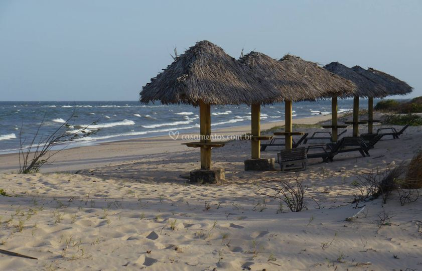 Praia e Palhoças