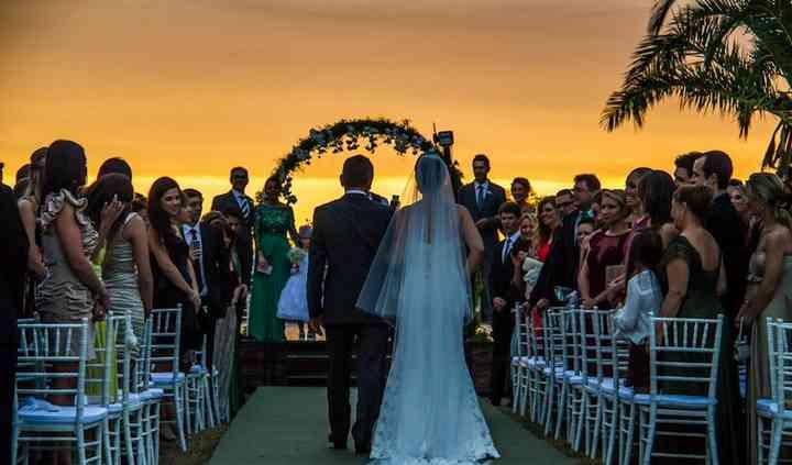 Casamento de conto de fadas