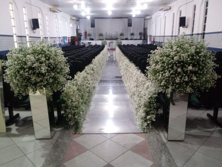 Decoração em Flores
