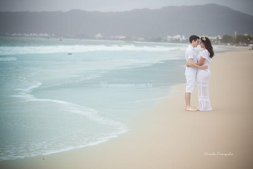 O amor e o mar!