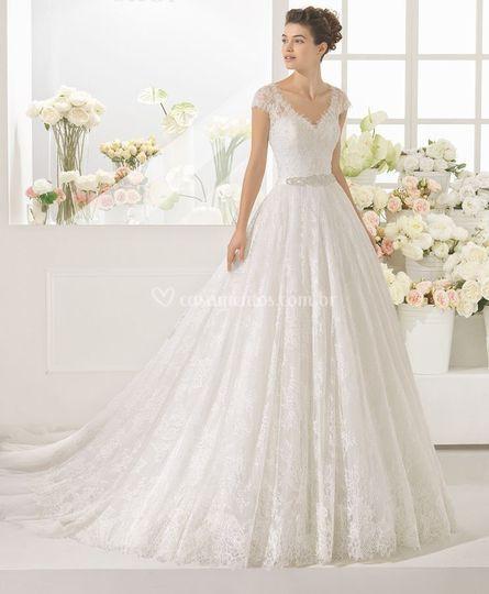 Vestido romantico e leve