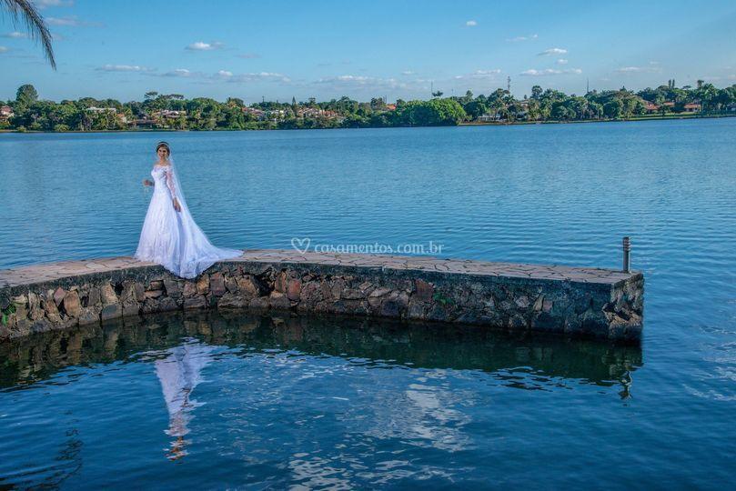 Ensaio fotográfico de noiva