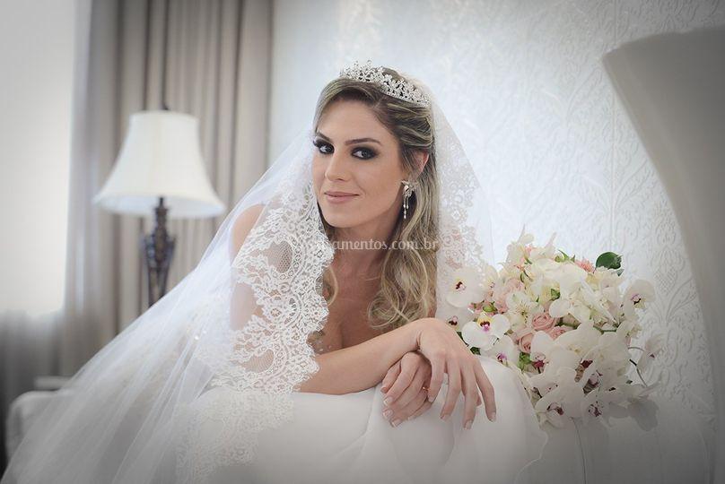 Imagem  vestido dePrevia Noiva