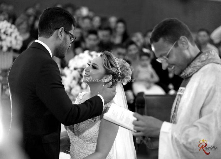 Olhar do fotografo no casament