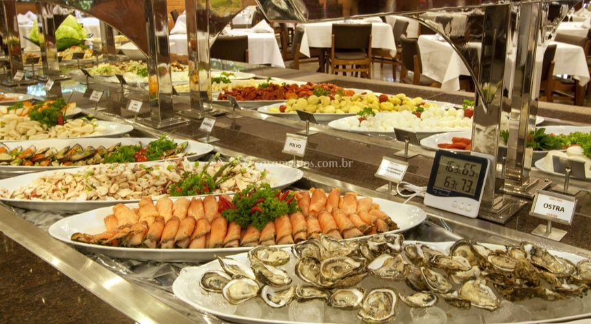Buffet,frutos do mar