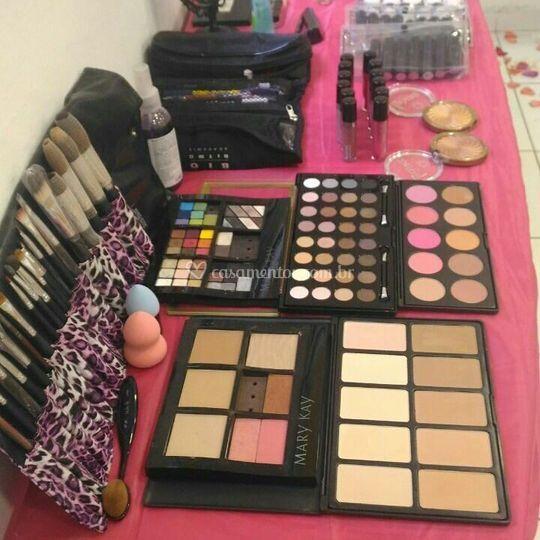 Makeup bar materiais