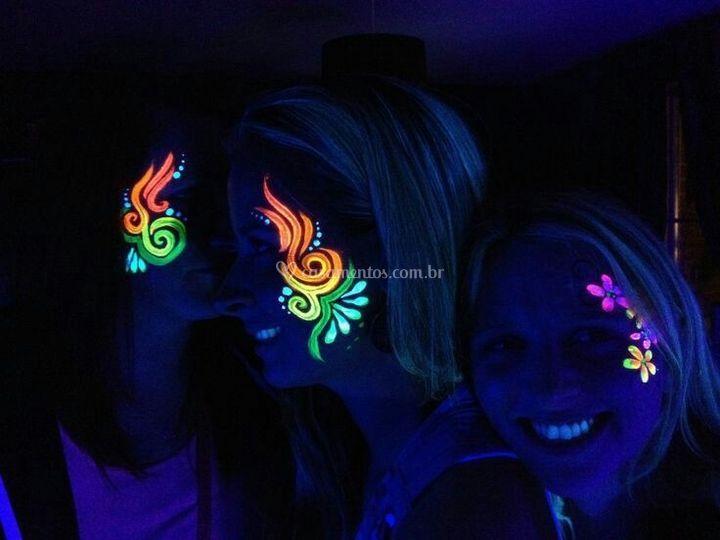 Branca face Color Fest Eventos