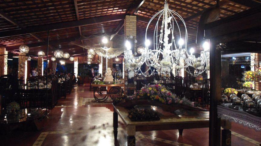 Área restaurante